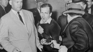 Foto del asesinato del asesinato de Harvey Lee Oswald