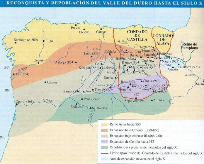 Expansión cristiana occidental durante la alta Edad Media
