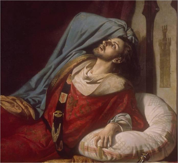 Los últimos momentos de Fernando IV (s/f)