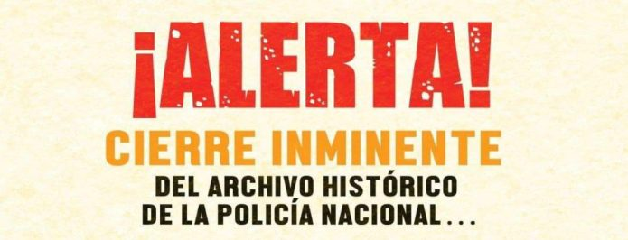amenazas de cierre y restricción de los acervos del Archivo Histórico de la Policía Nacional