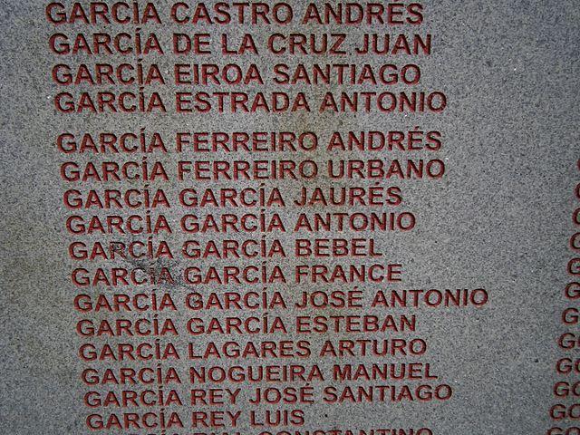 Monumento a los represaliados de la comarca de A Coruña. Wikimedia