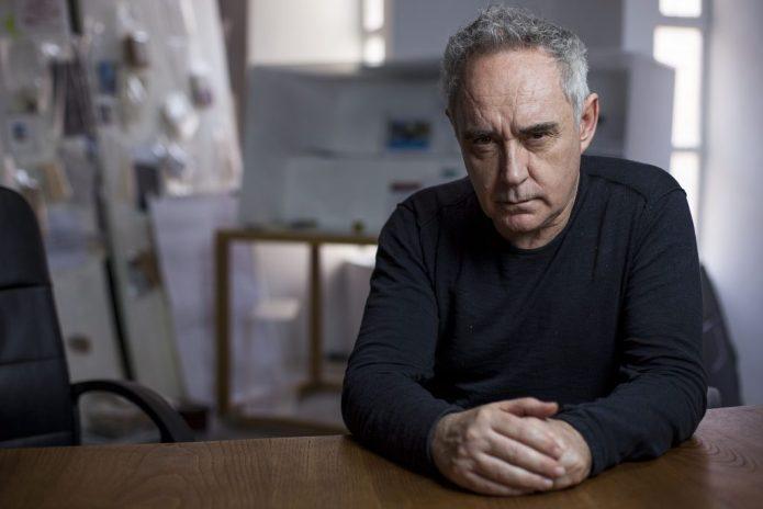 Retrat de Ferran Adrià. Foto: Juanjo Everman.