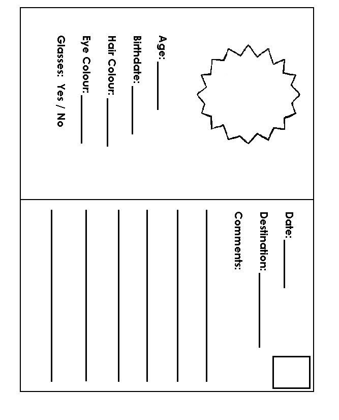 Passport Template For Children english passport download now for – Free Passport Template for Kids