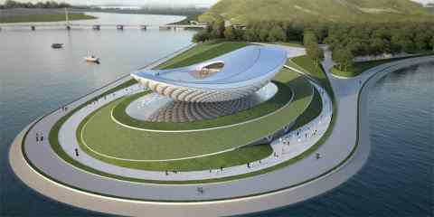 River Culture Multimedia theater pavilion 13