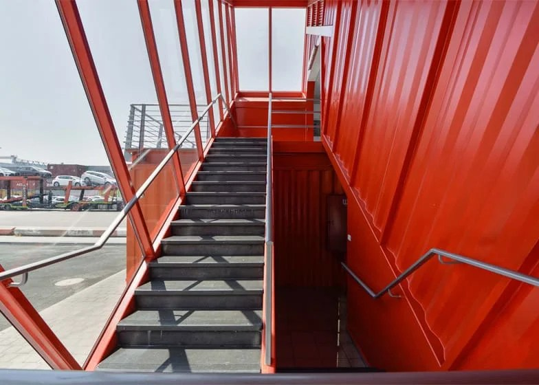 Shipping Container Terminal office building Potash Architects