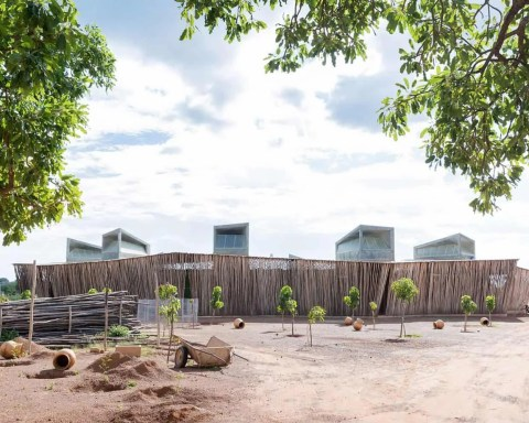 Ring shaped Lycee Schorge Secondary School Francis Kere Architecture Burkina Faso Archute 16