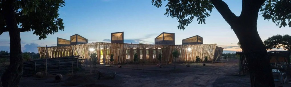 Ring shaped Lycee Schorge Secondary School Francis Kere Architecture Burkina Faso Archute 4