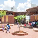 Ring shaped Lycee Schorge Secondary School Francis Kere Architecture Burkina Faso Archute 9