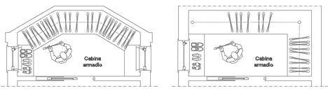 Cabina Armadio Dwg 2021