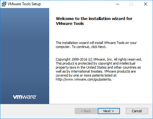 VMware VMtools installation with XenDesktop / XenApp 7 x