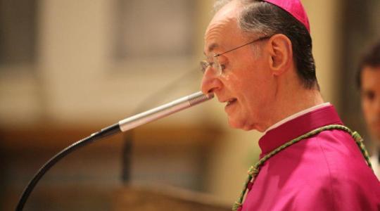 Agenda dell'Arcivescovo - Dal 29 aprile al 6 maggio