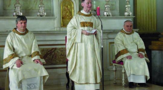 La preghiera di Padre Enrico in occasione della Vercelli che Pedala