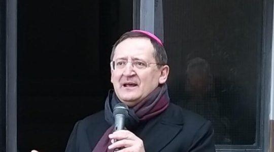 vicinanza al Vescovo Bodo