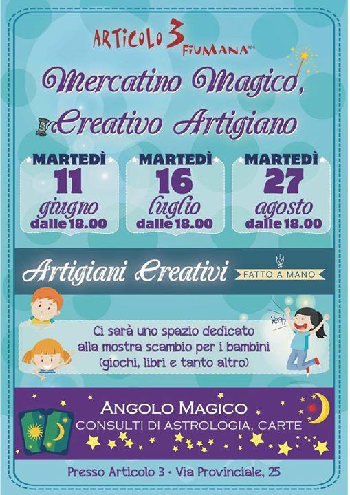 Mercatino Magico Creativo Artigiano