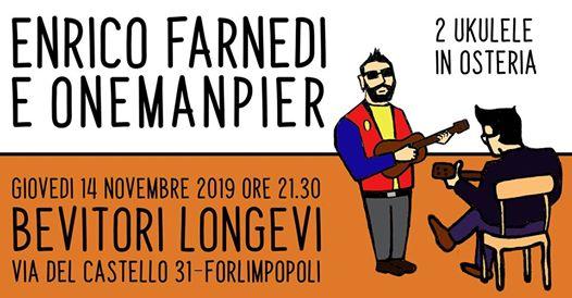 Enrico Farnedi & OneManPier | live @Bevitori Longevi