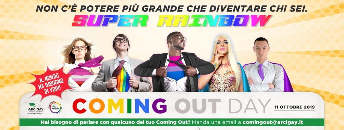 Lgbti, supereroi e supereroine nella campagna di Arcigay per il coming out day