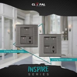 3 switch + 1 socket sheet inspire clopal