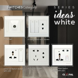 clopal switches ideas white