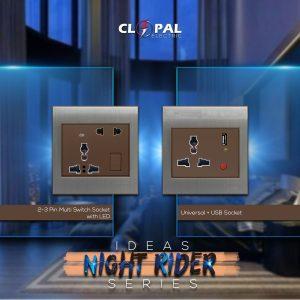 Multi function USB socket night rider clopal