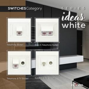 telephone tv sattelite sheet ideas white clopal