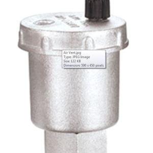 safety valve air vent