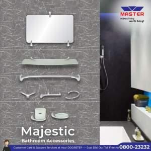 majestic bath accessory set master