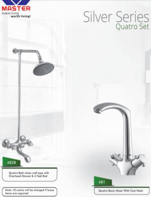 Quatro cp set master sanitary