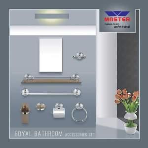 royal bath room accessories master sanitary