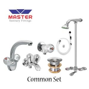 common full round shower set master sanitary