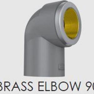 "Steelex brass Female Elbow 3/4"""