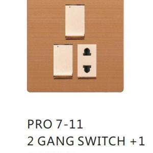 2 switch 1 socket pro7 clopal