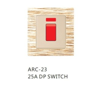 25A Double Pole Switch