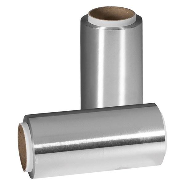 ARCosmetici argentalluminio carta stagnola argento 12 cm x 100 mt sibel 640gr con astuccio