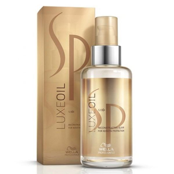 ARCosmetici sp wella luxe oil 100 ml olio lussuoso per capelli sfibrati system professional