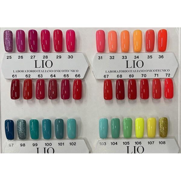 ARCosmetici cartella colori lio 3