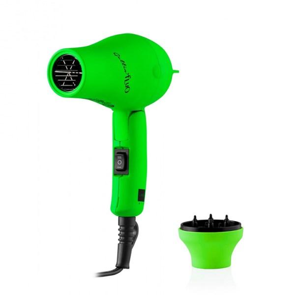 labor gettin fluo asciugacapelli mini verde 1200w