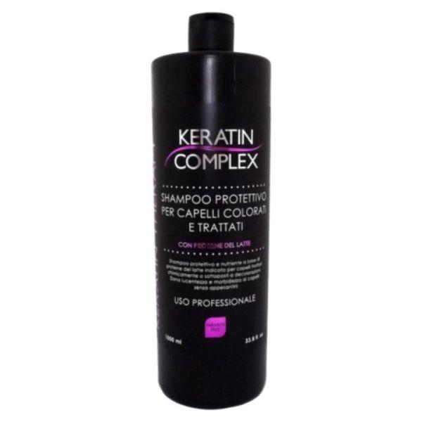 keratin complex shampoo protezione colore 1000ml