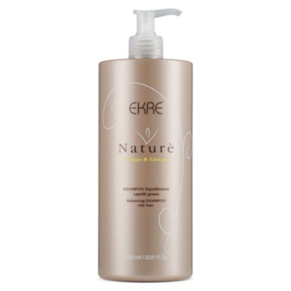 shampoo equilibrante per capelli grassi al mango limone nature 1000ml