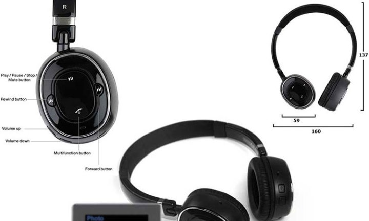 Music on the go Supertooth Melody Headset