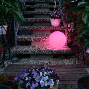 Gartenbeleuchtung, LED Gartendeco, Gartenlampe