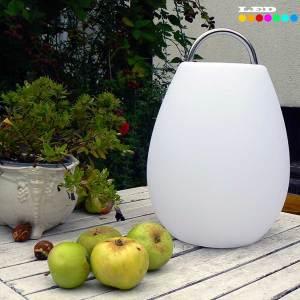 LED Tischlaterne mit Farbwechsel und Akku