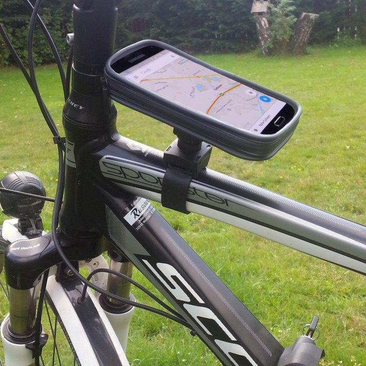 Universal Smartphone Halterung, waserdicht 5,5 Zoll