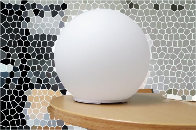 LED Solarkugel für innen und außen