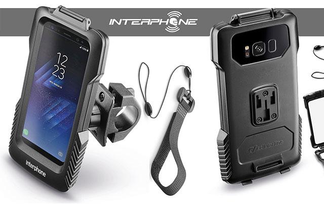 Interphone Halter für Samsung Galaxy: S8 Plus und S7 Edge