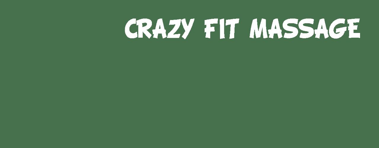 Crazy Fit Massage, schrift