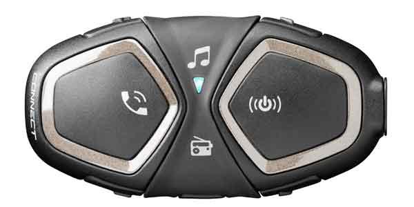Interphone Connect, Bluetooth Freisprecheinrichtung für Motorrad