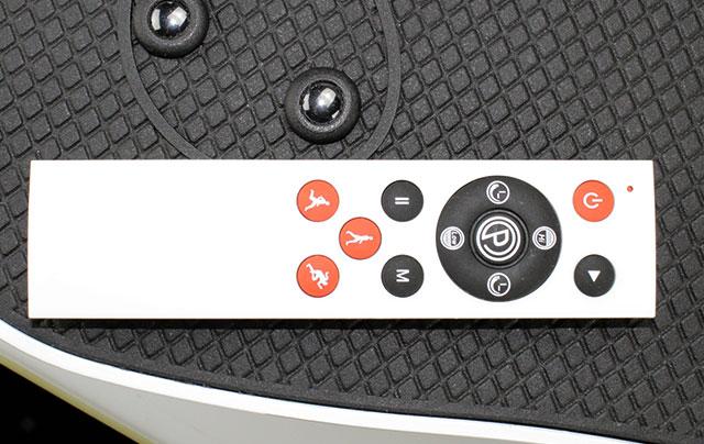 Vibrationsplatten bei arcotec, Vitaplate mini mit Fernbedienung