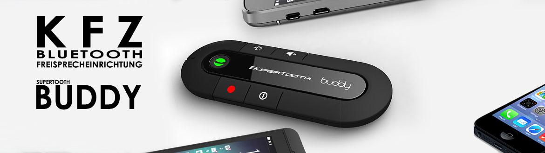 Supertooth Buddy, Bluetooth Freisprecheinrichtung für Auto