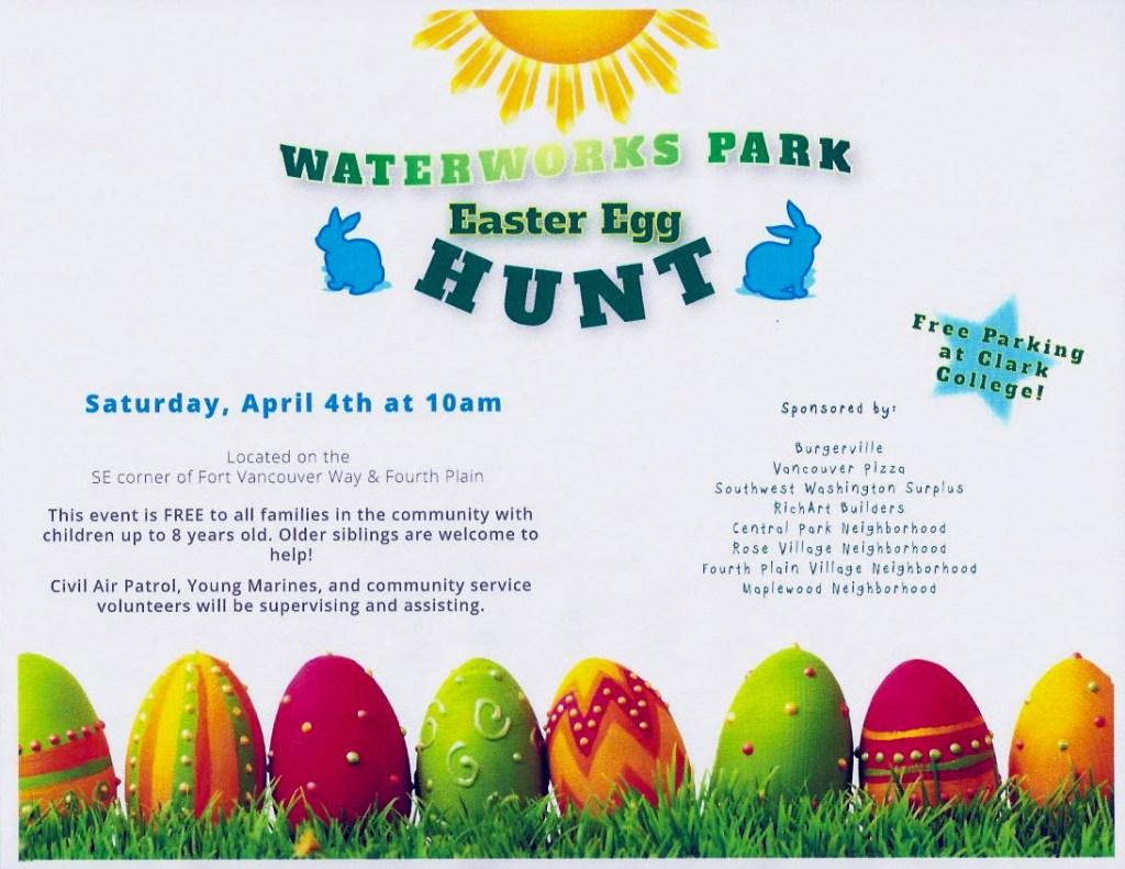 Easter Egg Hut at Waterworks Park