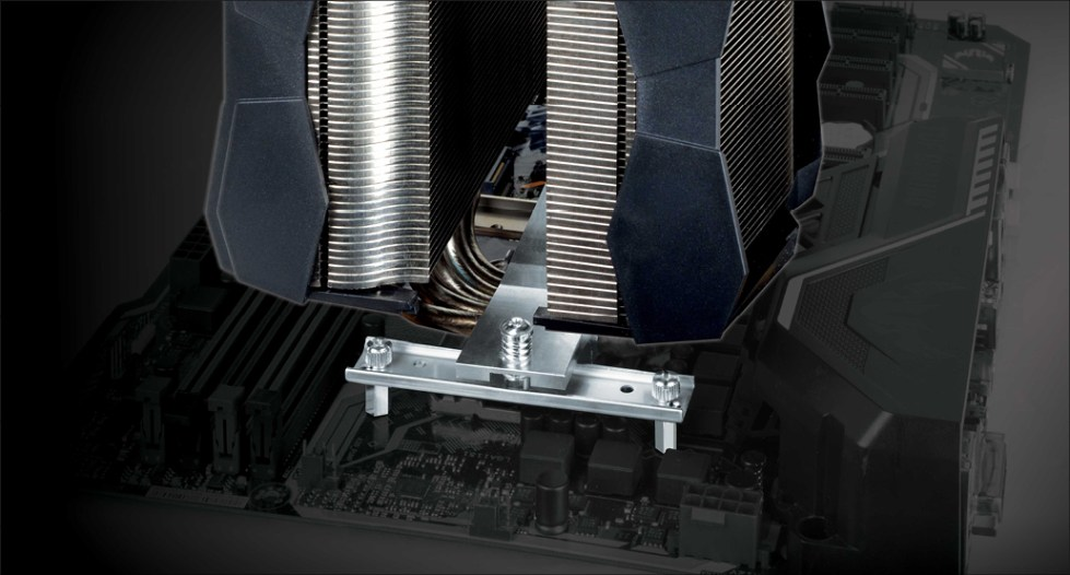 Multi Compatible Dual Tower CPU Cooler ARCTIC Freezer 50 Installation